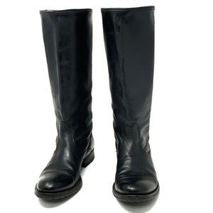 n.d.c. MADE BY HAND LUSITANIA Black Leather Boots